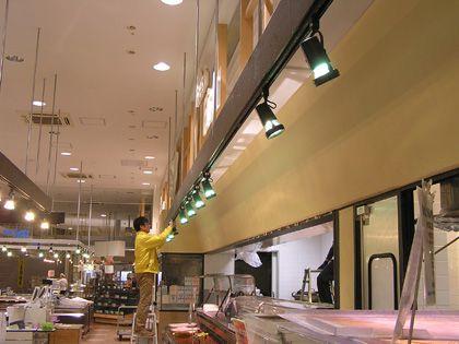 店舗に合わないLED イメージ