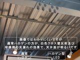 天井面の明るさの点検 イメージ