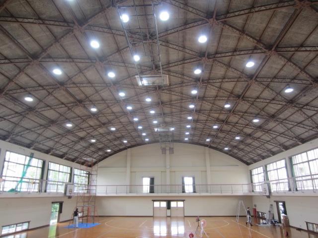 久世中学校 体育館